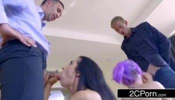 film porno in discoteca